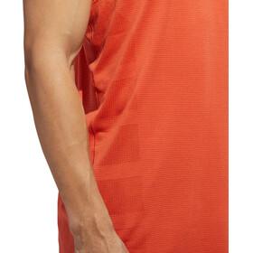 adidas Supernova Hardloopshirt zonder mouwen Heren oranje